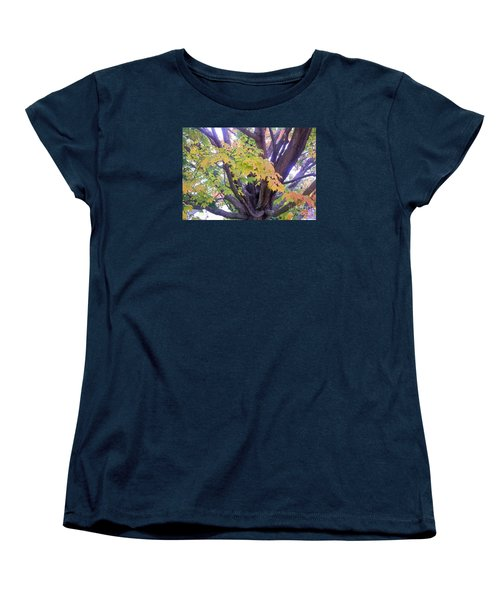Women's T-Shirt (Standard Cut) featuring the photograph Indian Tree by Kristine Nora