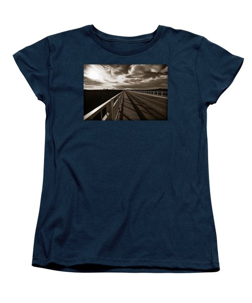 Women's T-Shirt (Standard Cut) featuring the photograph Infinity by Marilyn Hunt