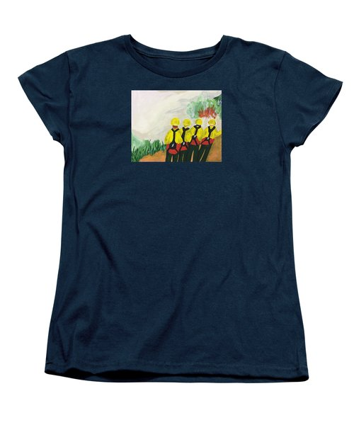 Initial Attack Women's T-Shirt (Standard Cut) by Erika Chamberlin