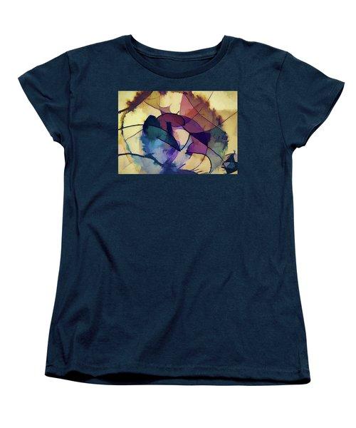 Ink Pie Women's T-Shirt (Standard Cut) by Alex Galkin