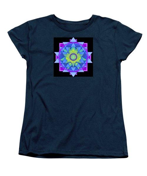Inner Light Mandala Women's T-Shirt (Standard Cut) by Mimulux patricia no No