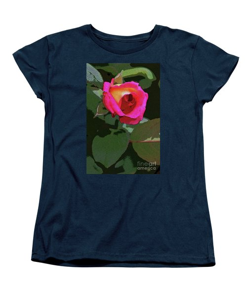 Inner Rose Women's T-Shirt (Standard Cut) by Craig Wood