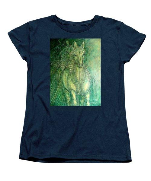 Inner Spirit Women's T-Shirt (Standard Cut) by Kim Jones