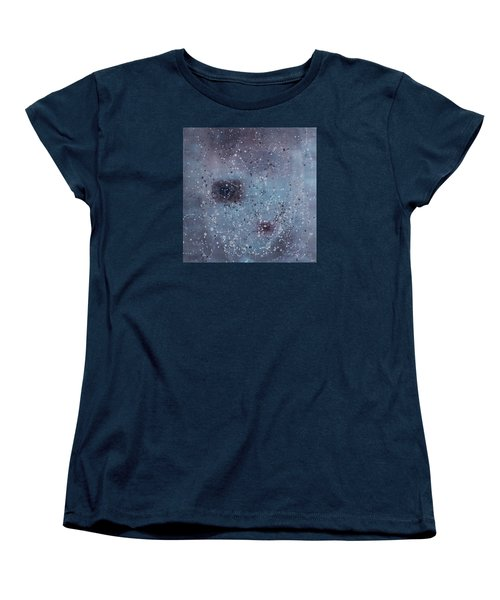 Women's T-Shirt (Standard Cut) featuring the painting Inner World... by Min Zou