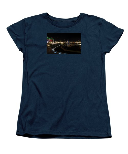 Inner Harbour Of Victoria Bc Women's T-Shirt (Standard Cut) by Marilyn Wilson