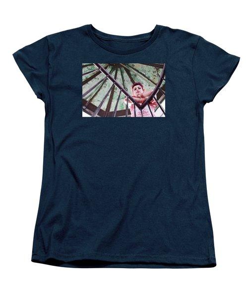 inside Americas first lighthouse Women's T-Shirt (Standard Cut)