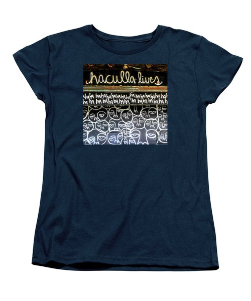 Women's T-Shirt (Standard Cut) featuring the photograph Inside The Carousel House by Colleen Kammerer