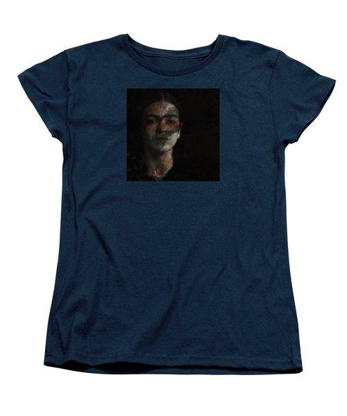 Inspiration Frida Kahlo  Women's T-Shirt (Standard Cut) by Paul Lovering