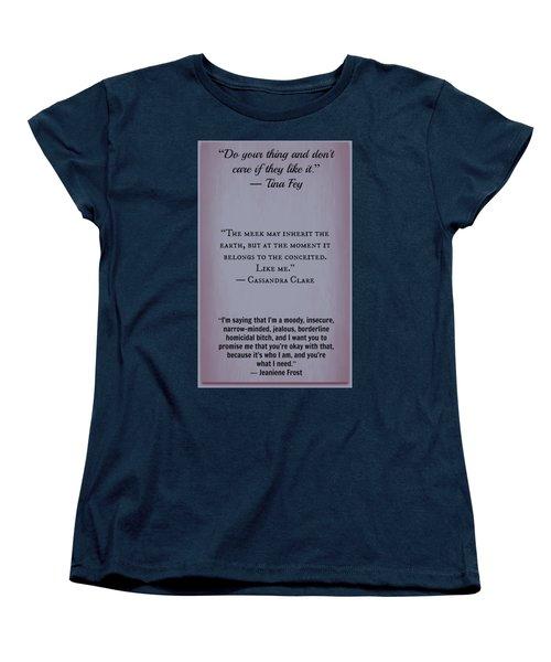 Inspire44 Women's T-Shirt (Standard Cut) by David Norman