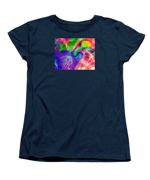 Inspired Flower Pot Women's T-Shirt (Standard Cut) by Fania Simon