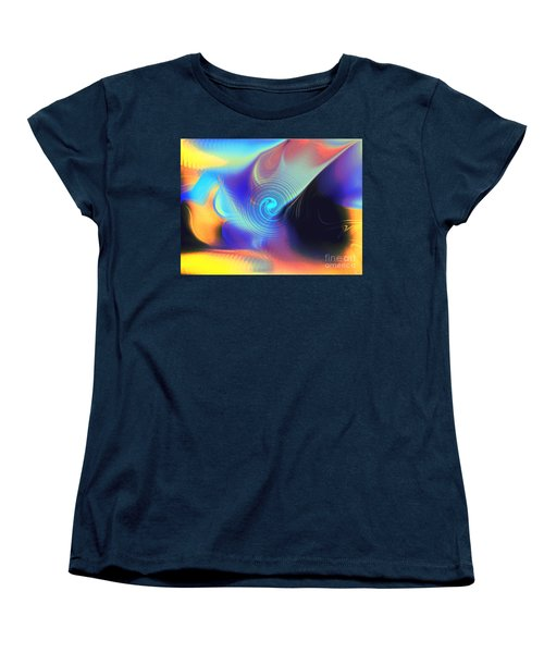 Intensity Vs Energy Women's T-Shirt (Standard Cut) by Yul Olaivar