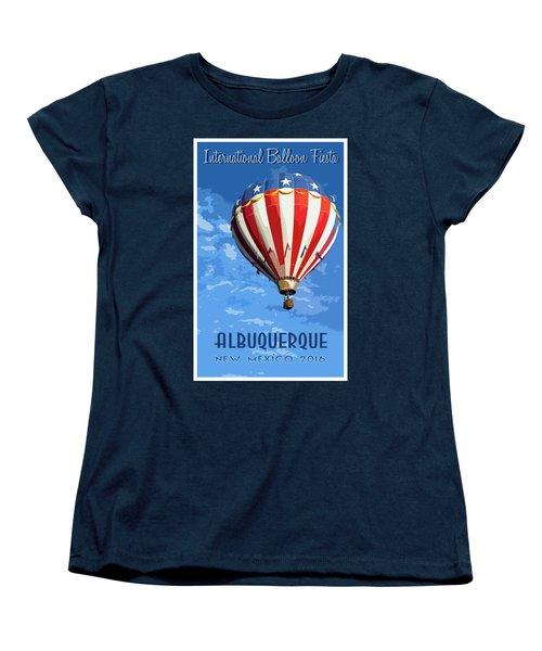 International Balloon Fiesta Women's T-Shirt (Standard Cut)