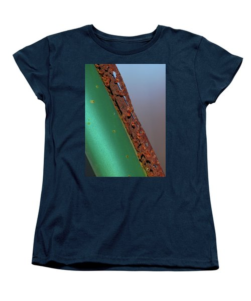 Women's T-Shirt (Standard Cut) featuring the photograph International Green by Susan Capuano