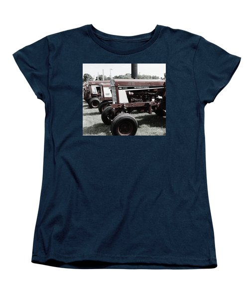 Women's T-Shirt (Standard Cut) featuring the photograph International Line Up by Meagan  Visser
