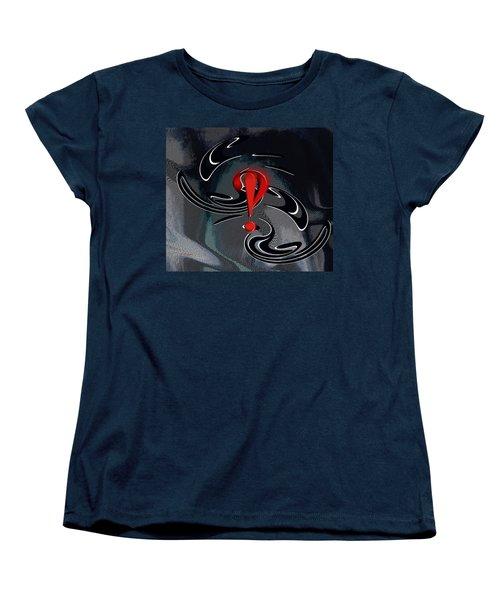 Interrobang First Women's T-Shirt (Standard Cut) by rd Erickson