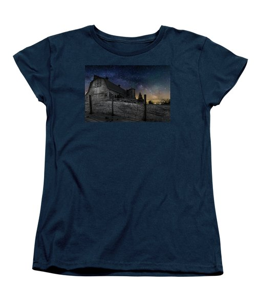 Women's T-Shirt (Standard Cut) featuring the photograph Interstellar Farm by Bill Wakeley