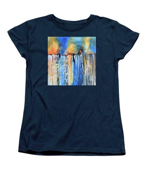 Into The Earth Women's T-Shirt (Standard Cut) by Nancy Jolley