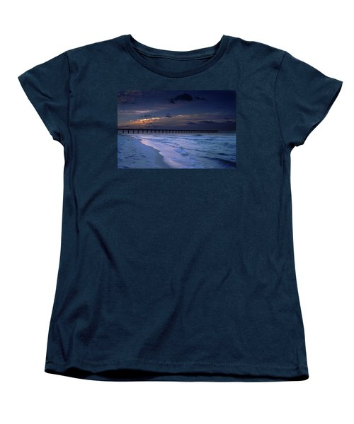 Women's T-Shirt (Standard Cut) featuring the photograph Into The Night by Renee Hardison