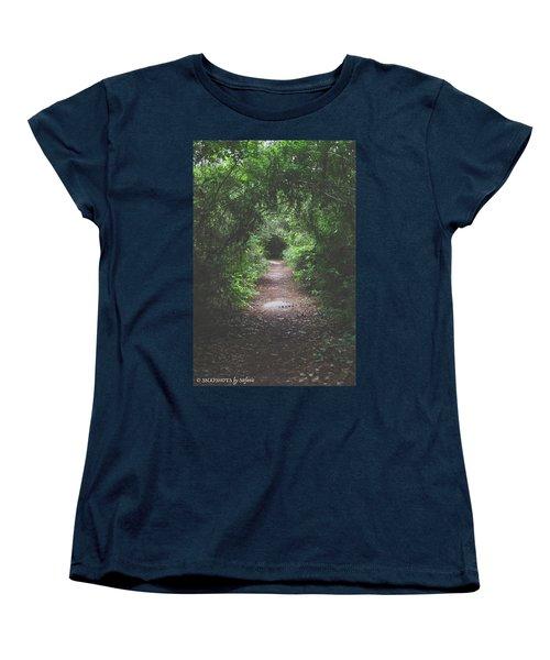 Into The Wormhole Women's T-Shirt (Standard Cut)