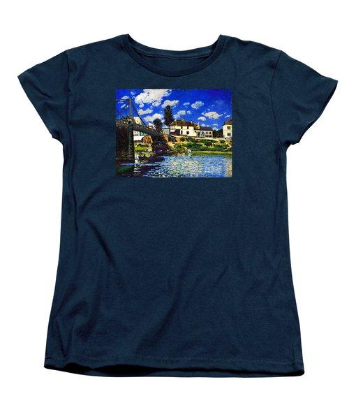 Inv Blend 14 Sisley Women's T-Shirt (Standard Cut) by David Bridburg