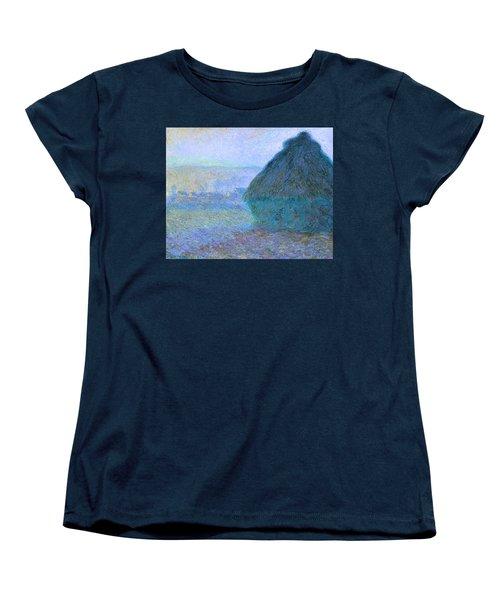 Inv Blend 21 Monet Women's T-Shirt (Standard Cut) by David Bridburg