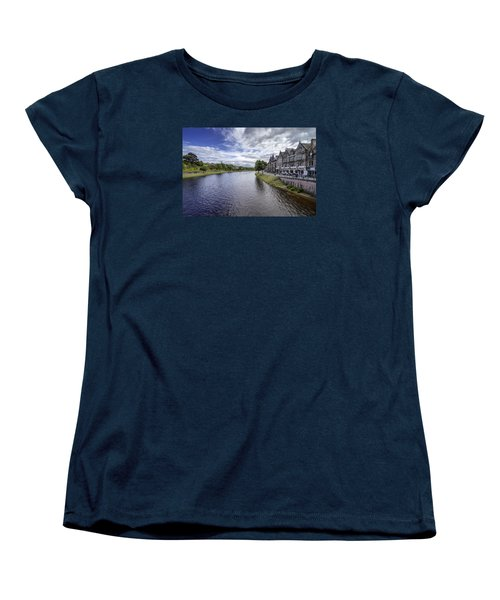 Women's T-Shirt (Standard Cut) featuring the photograph Inverness by Jeremy Lavender Photography