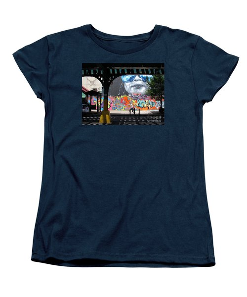 Women's T-Shirt (Standard Cut) featuring the photograph Inwood Street Art  by Cole Thompson