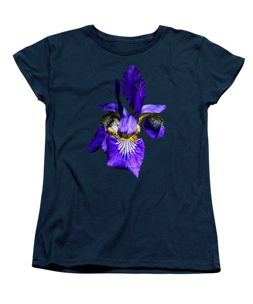 Women's T-Shirt (Standard Cut) featuring the photograph Iris Versicolor by Mark Myhaver