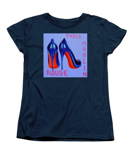 Irish Burlesque Shoes Women's T-Shirt (Standard Cut) by John  Nolan