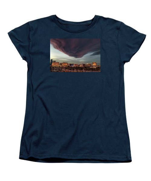 Women's T-Shirt (Standard Cut) featuring the photograph Iron Maiden Las Vegas by Michael Rogers