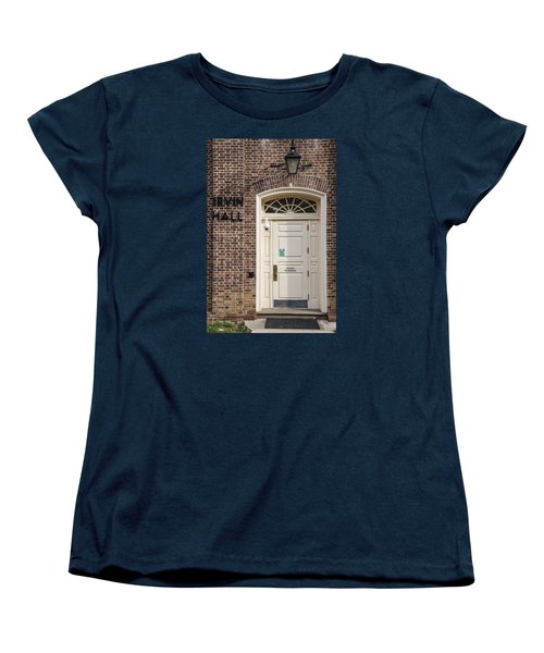 Irvin Hall Penn State  Women's T-Shirt (Standard Cut) by John McGraw
