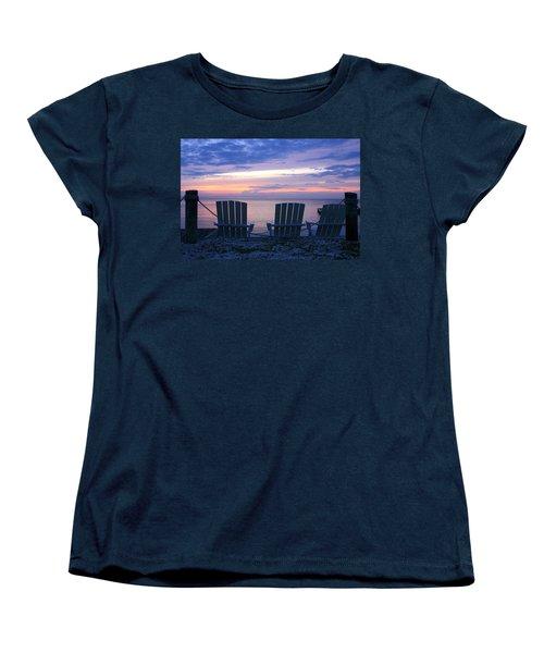 Island Time Women's T-Shirt (Standard Cut) by Catherine Alfidi