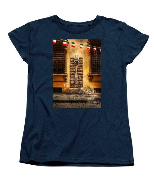 Italia Cential Bicycle Women's T-Shirt (Standard Cut)