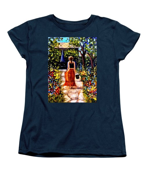 It's A Beautiful Day.. Women's T-Shirt (Standard Cut) by Cristina Mihailescu