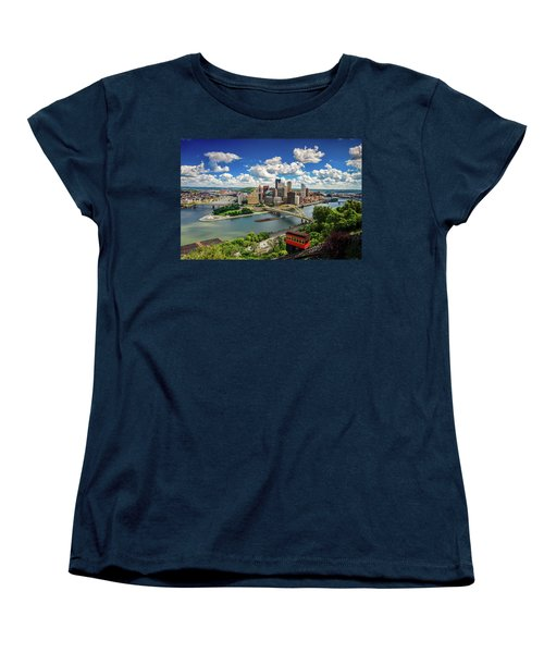 Women's T-Shirt (Standard Cut) featuring the photograph It's A Beautiful Day In The Neighborhood by Emmanuel Panagiotakis