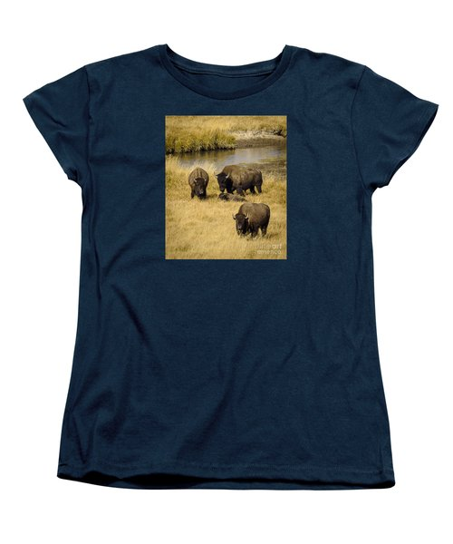 Women's T-Shirt (Standard Cut) featuring the photograph It's A Family Affair by Sandy Molinaro