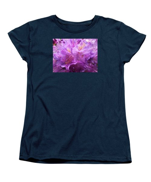 Women's T-Shirt (Standard Cut) featuring the mixed media It's A Rainy Day by Gabriella Weninger - David