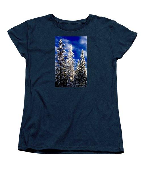 Its Now Crystal Clear Women's T-Shirt (Standard Cut) by Jennifer Lake