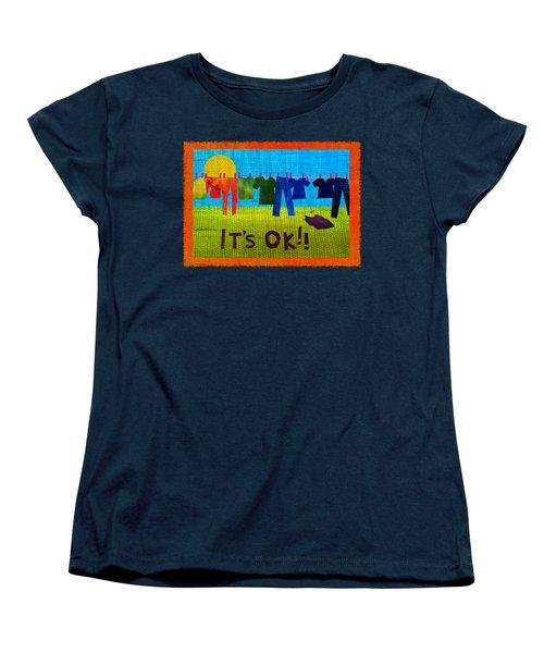 Ok Transparent Women's T-Shirt (Standard Fit)