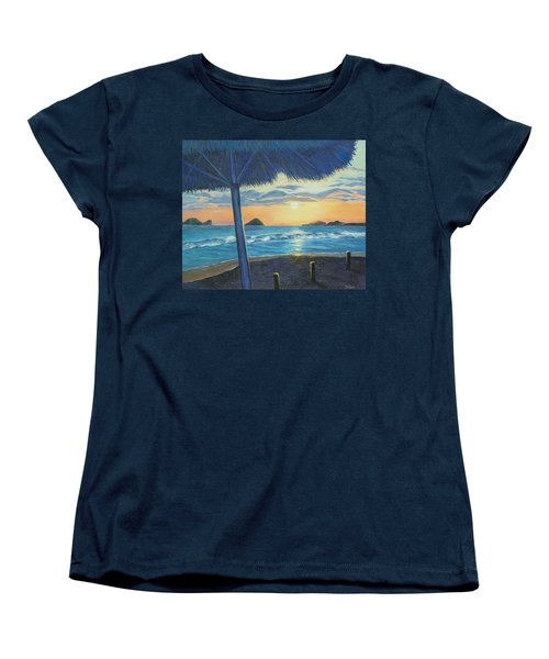 Ixtapa Women's T-Shirt (Standard Cut) by Susan DeLain