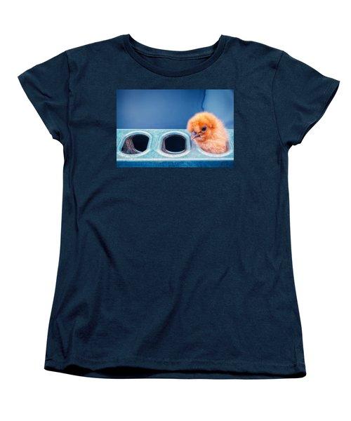 Iz In Da Feeder. Women's T-Shirt (Standard Cut) by TC Morgan