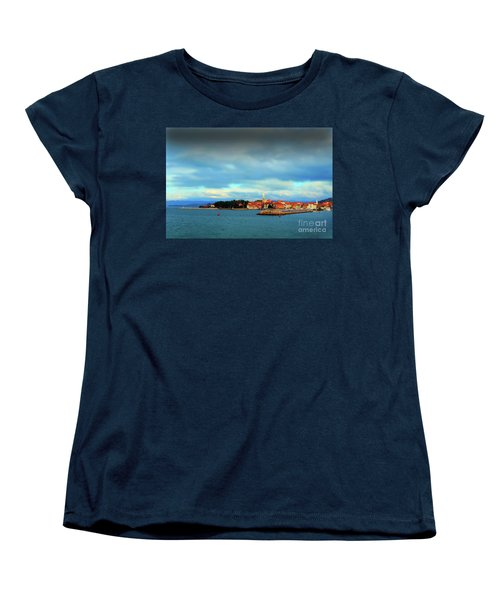 Izola From The Marina Women's T-Shirt (Standard Cut) by Graham Hawcroft pixsellpix