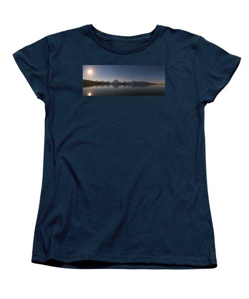 Jackson Lake Moon Women's T-Shirt (Standard Fit)