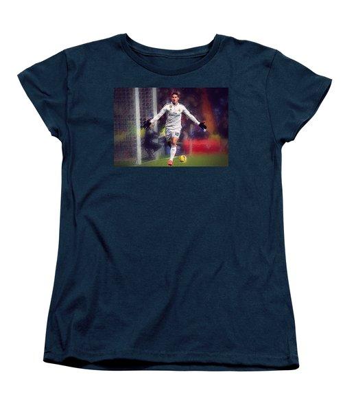 James Rodrigez Women's T-Shirt (Standard Cut) by Semih Yurdabak