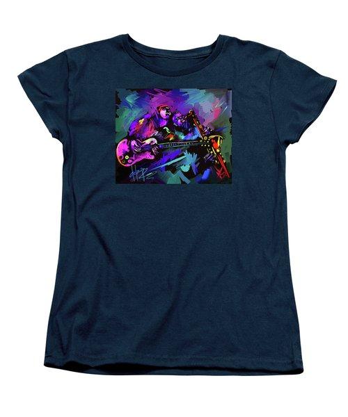 Jammin' The Funk Women's T-Shirt (Standard Cut) by DC Langer