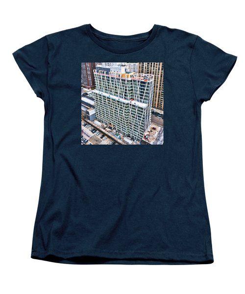Jan 2015 Women's T-Shirt (Standard Cut) by Steve Sahm