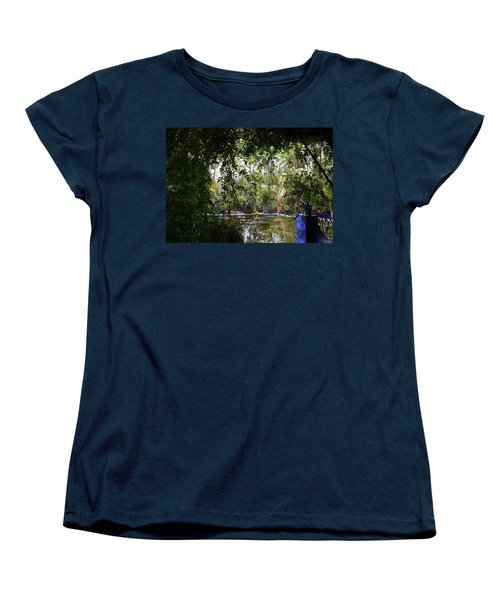 Women's T-Shirt (Standard Cut) featuring the photograph Jardin Majorelle 2 by Andrew Fare