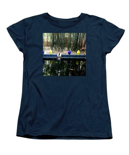 Women's T-Shirt (Standard Cut) featuring the photograph Jardin Majorelle by Andrew Fare