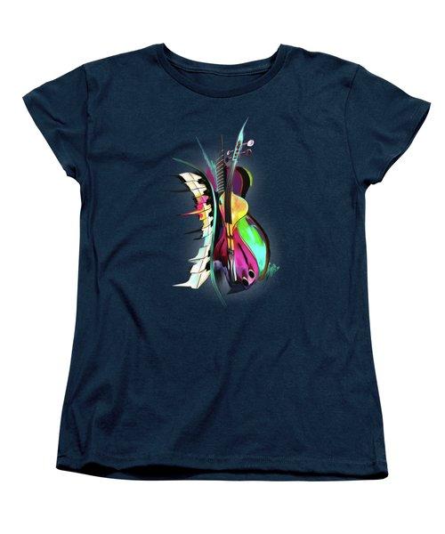 Jazz Women's T-Shirt (Standard Cut) by Melanie D