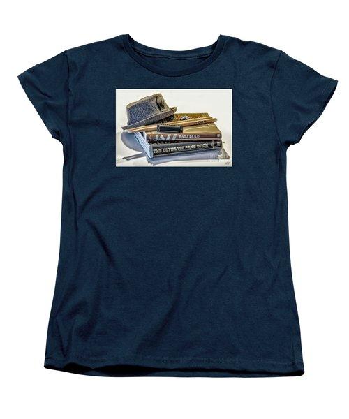 Women's T-Shirt (Standard Cut) featuring the photograph Jazz by Walt Foegelle